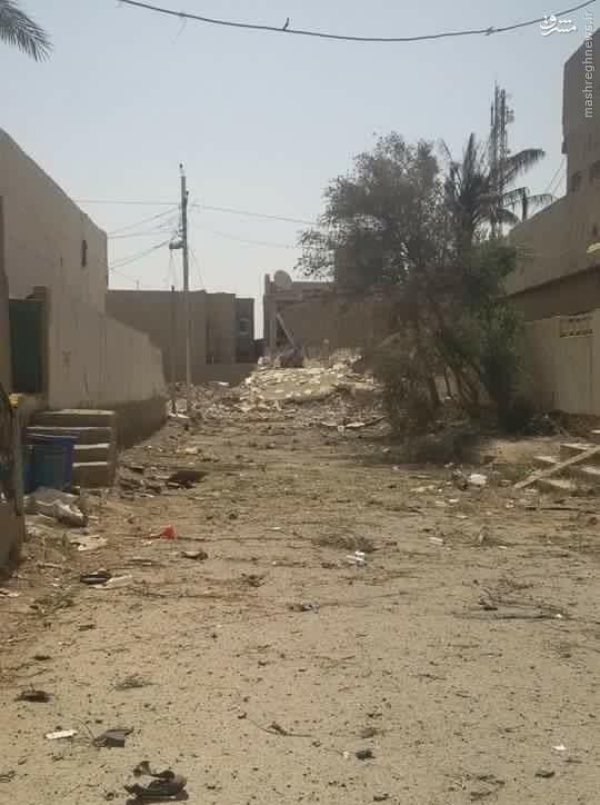 عملیات بازپس گیری محلات شهر هیت الانبار+عکس