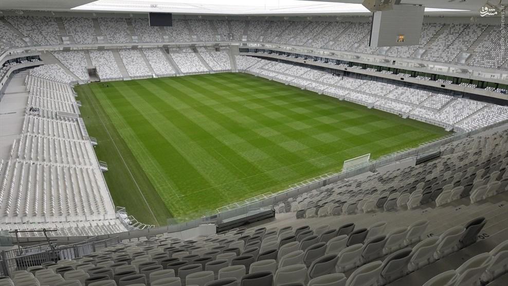 بوردو: ورزشگاه نیو بوردو ظرفیت: ۴۲٬۰۵۲