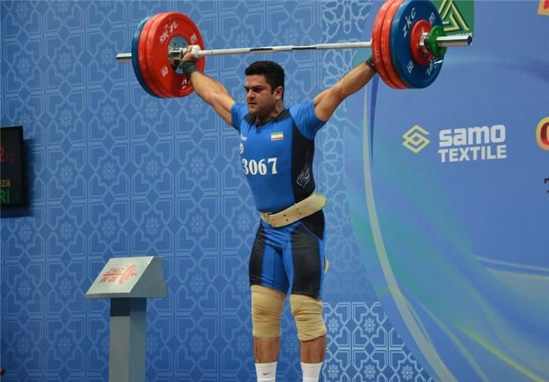 براری مدال طلای یکضرب ۱۰۵ کیلوگرم را به دست آورد