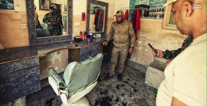 عکس/ آرایشگاه تغییر قیافه داعش