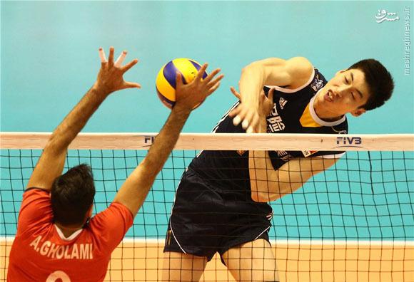 پیروزی سخت و شیرین ایران مقابل چین/ شاگردان لوزانو در یک قدمی المپیک +فیلم و جدول