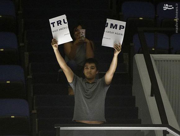 معترضان به ترامپ یا معترضان به آمریکا