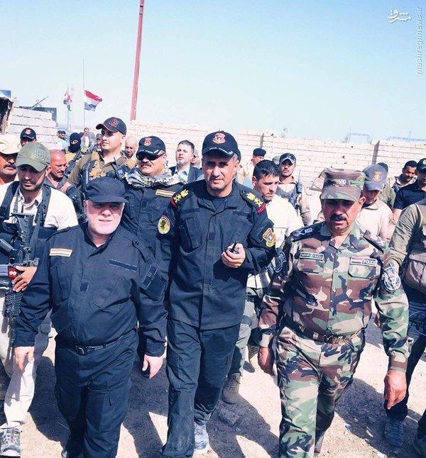اتاق عملیات نظامی حیدر العبادی در فلوجه+عکس