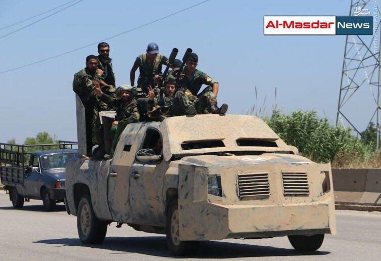 عملیات بازپس گیری شهر رقه توسط ارتش سوریه+عکس