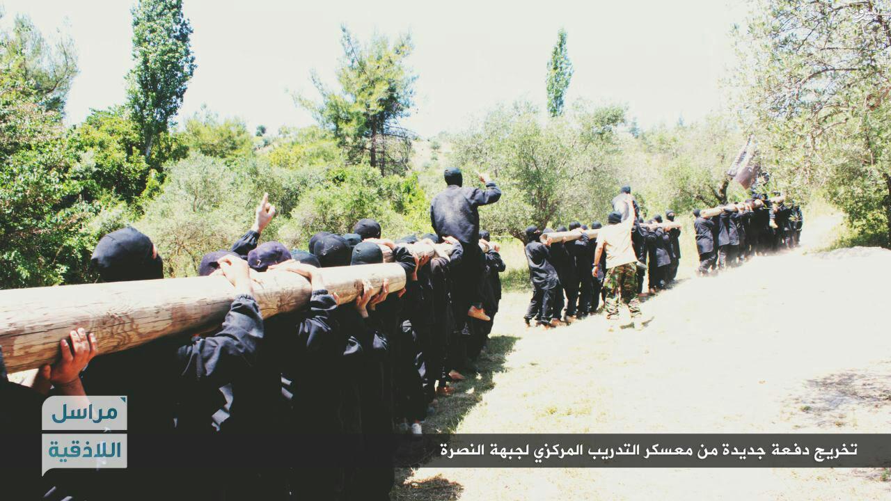 اردوگاه القاعده در شمال لاذقیه سوریه+عکس