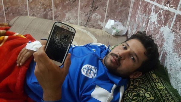 موبایل جان رزمنده عراقی را نجات داد+عکس