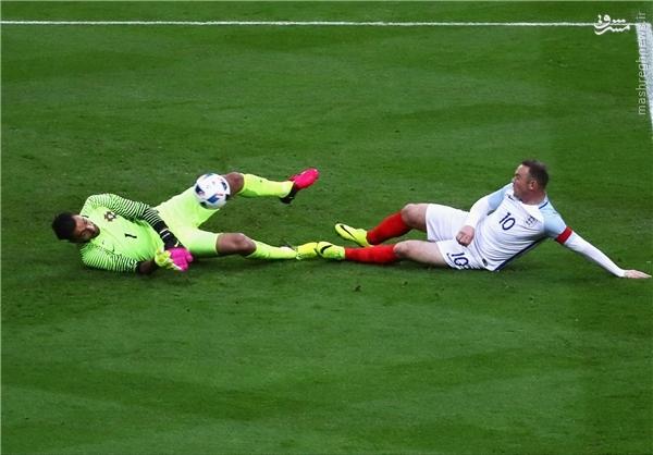 عکس/برتری انگلیس مقابل پرتغال درحضور مورینیو