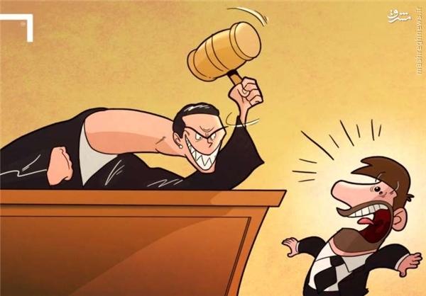 کاریکاتور/ کابوسهای مسی از دادگاه و قاضی