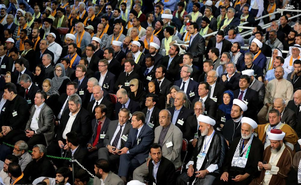 عکس/ میهمانان خارجی مراسم ارتحال امام(ره)