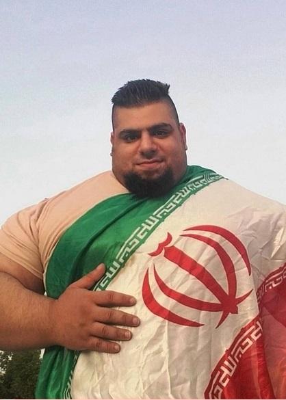 رجزخوانی جوان تنومند ایرانی برای سعودیها