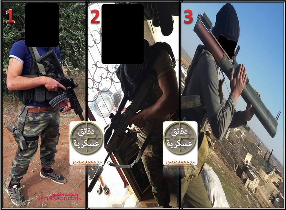 سلاح تروریستهای سوریه ساختِ کجاست؟ +عکس