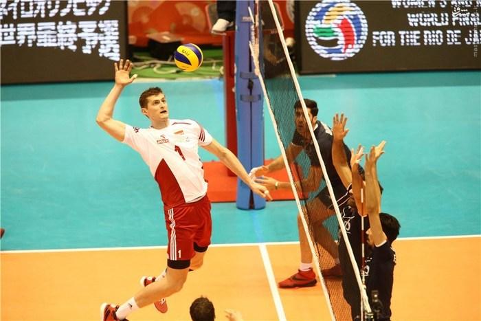 پایان حسرت 52 ساله/ والیبال ایران با شکست لهستان المپیکی شد +جدول