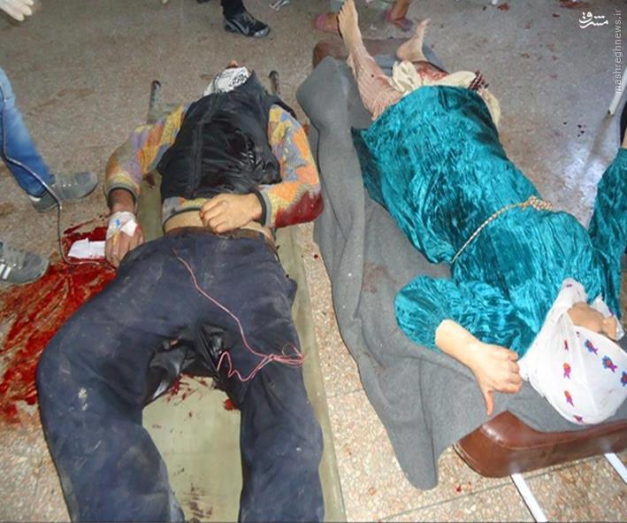 کشتار خونین کردهای شیخ مقصود حلب+عکس