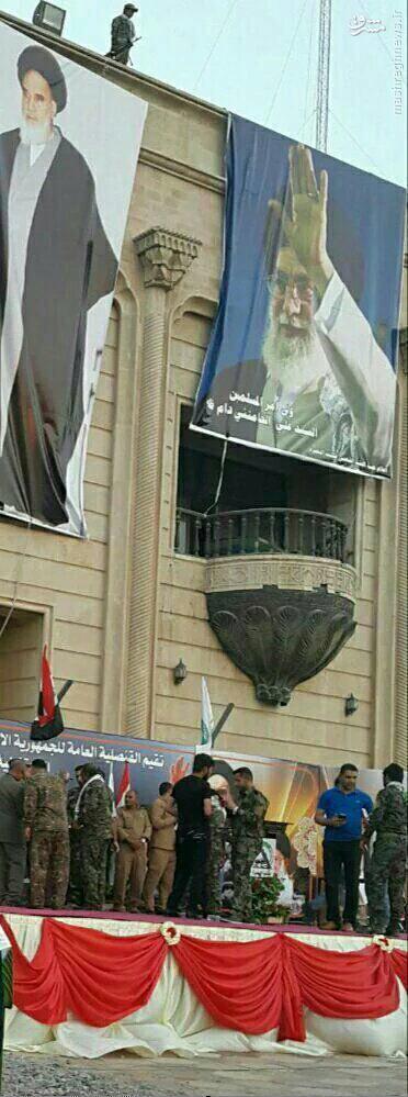 عکس/ سرنوشت کاخ صدام و بالکن معروفش