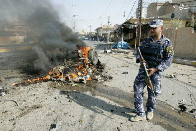 10 شهید وزخمی در انفجار جنوب بغداد+عکس