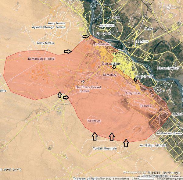 زخمی شدن فرمانده ارشد ارتش سوریه+عکس