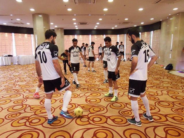 اولین تمرین تیم ملی در بازگشت به تهران +عکس