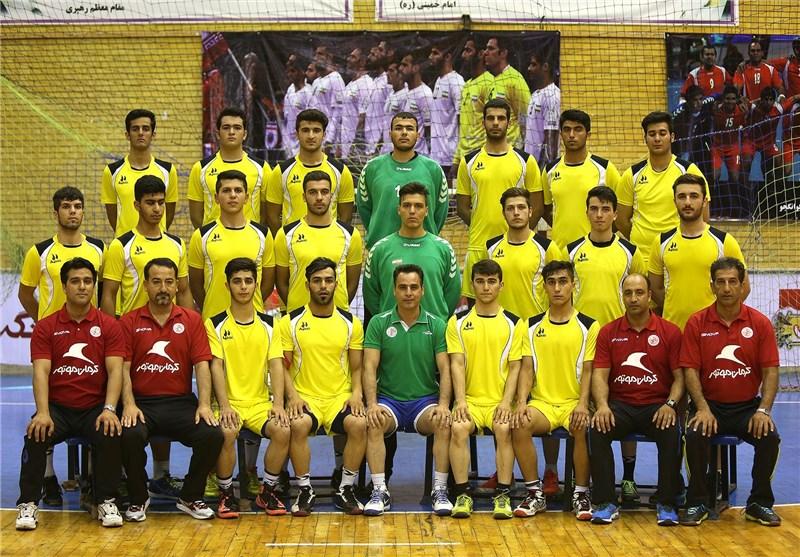 تیم هندبال نوجوانان ایران حریفان خود را شناخت