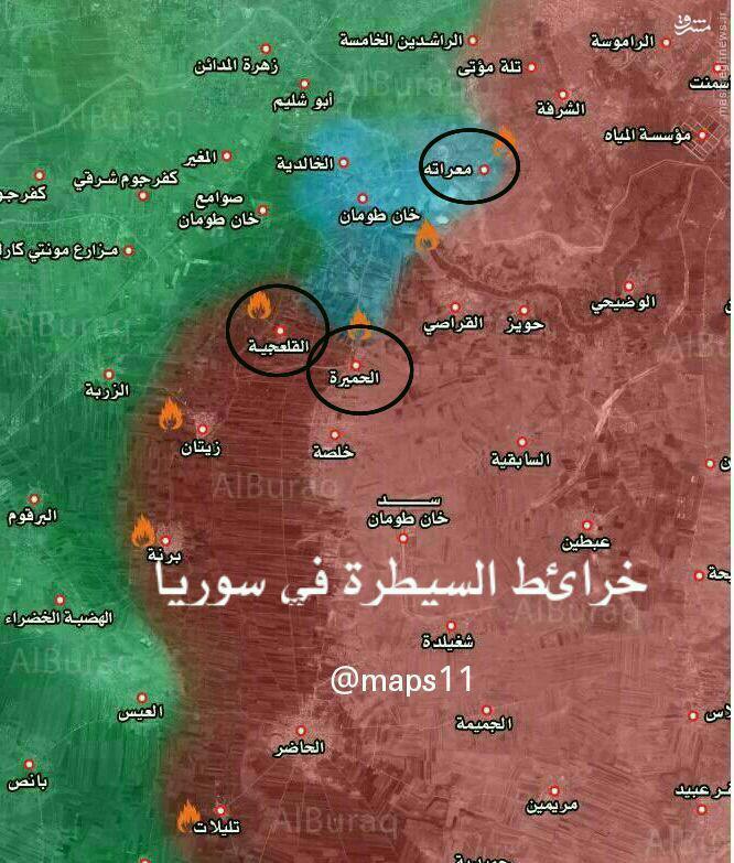 هلاکت فرمانده مهاجمین به معراته حلب+عکس