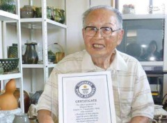 عکس/ مسنترین دانشجوی جهان، فارغ التحصیل شد