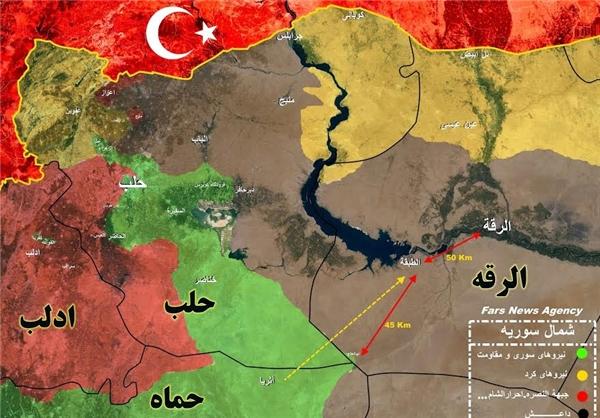 جزئیات مراحل عملیات آزادسازی «رقه» +نقشه