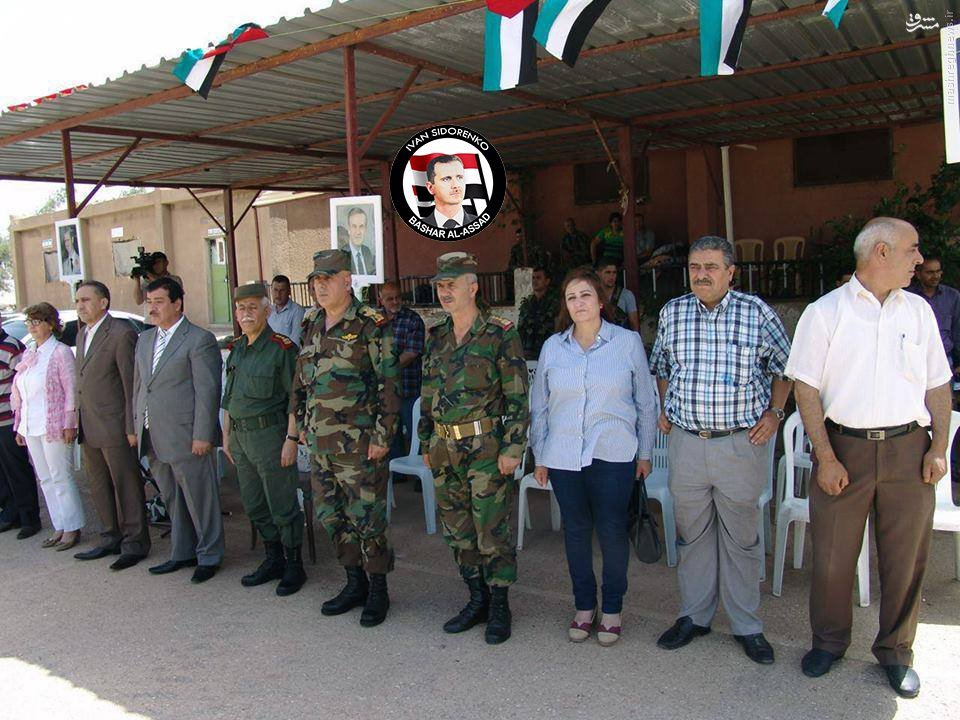 پیوستن 500 جوان به ارتش سوریه در حسکه+عکس