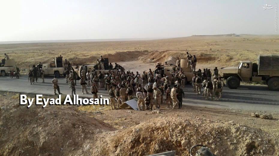 فیلم/پیشروی ارتش سوریه به سمت مقر خلافت داعش