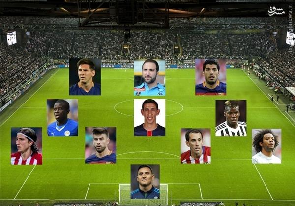 غیبت فوق ستاره رئال در تیم منتخب فصل اروپا