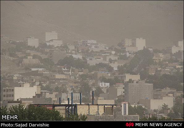 سوریه و عراق منشاء گرد و غبار اخیر ایران