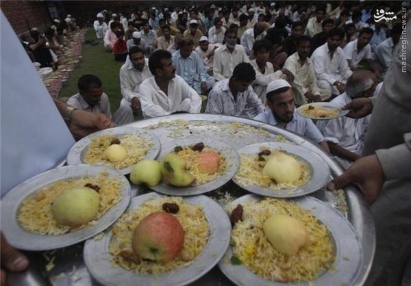 آداب و رسوم پاکستان در ماه رمضان +تصاویر