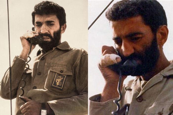 عکس / دیروز و امروز حاج احمد متوسلیان