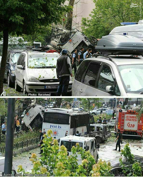 انفجار تروریستی در استانبول ترکیه+عکس