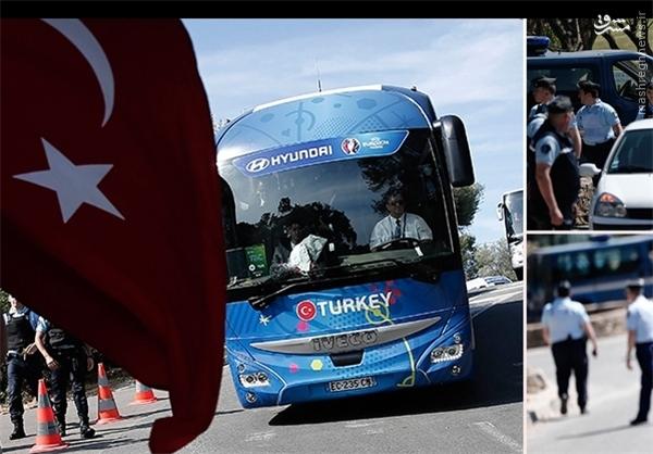 ترکیه تحت تدابیر شدید امنیتی در هتل مستقر شد +عکس