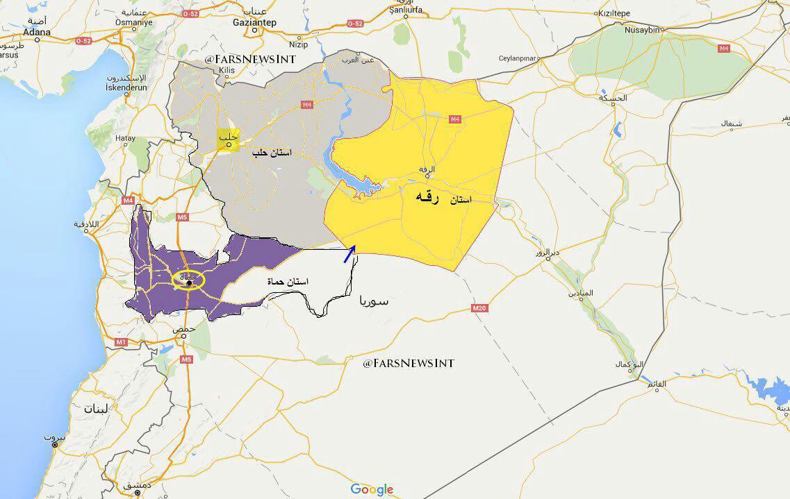 ارزیابی آخرین تحولات عراق و سوریه +نقشه