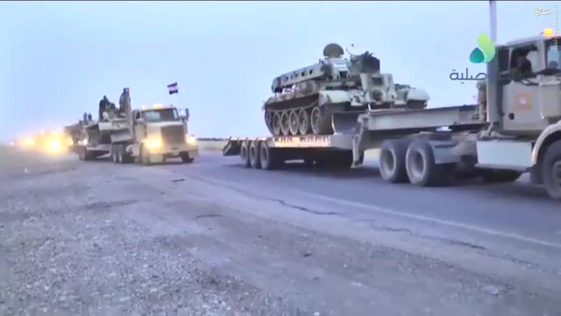 عملیات قریب الوقوع ارتش عراق در موصل+عکس