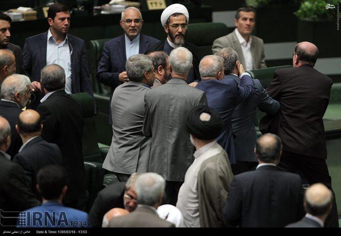 فیلم/ درگیری دیروز مجلس