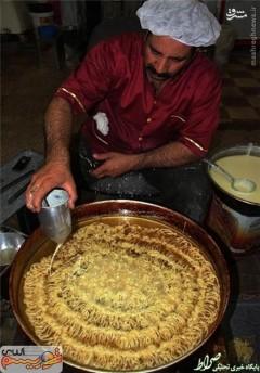 عکس/ بزرگترین زولبیا در ایران