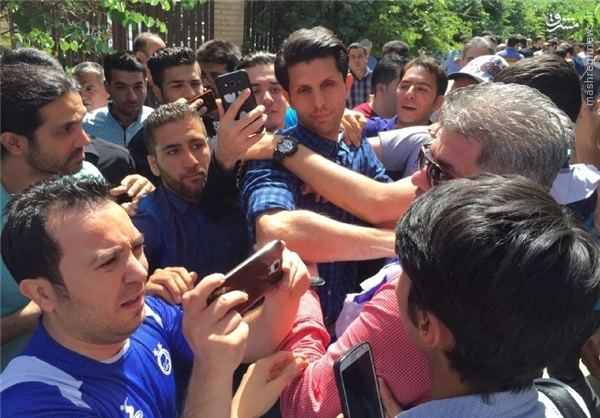 حواشی زشت مراسم پنجمین سالگرد حجازی+عکس