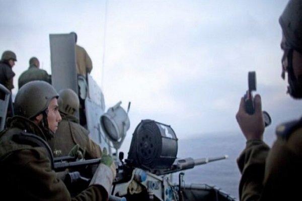 یورش صهیونیستها به سواحل غزه