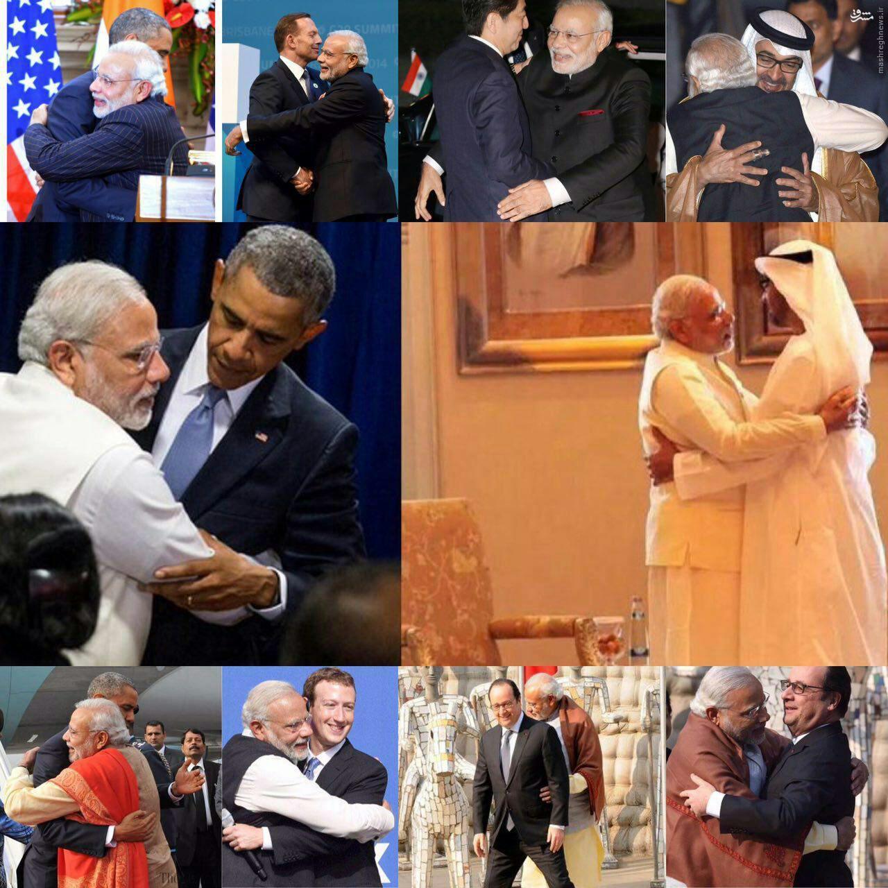 عکس/ نخست وزیر هند