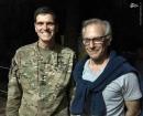 بازدید مشکوک ژنرال آمریکایی از شمال سوریه+عکس