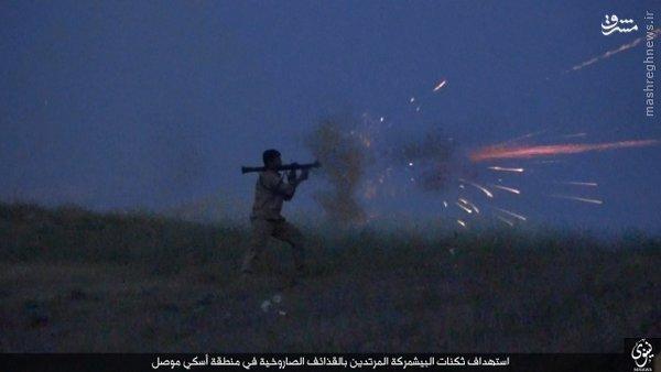 حمله 7 انتحاری داعش به شمال موصل+عکس