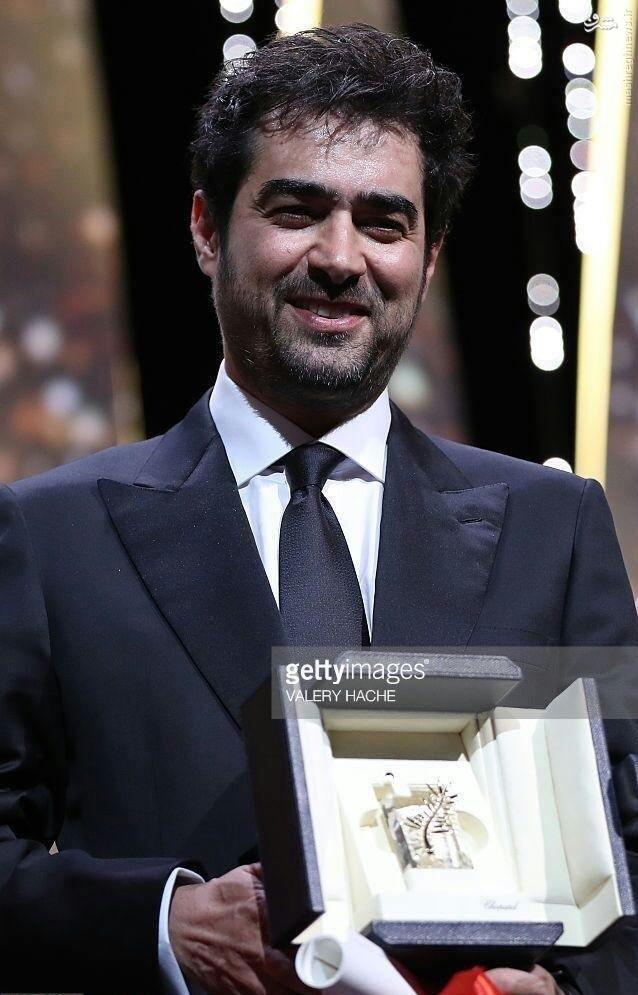 عکس/ شهاب حسینی و نخل طلایش