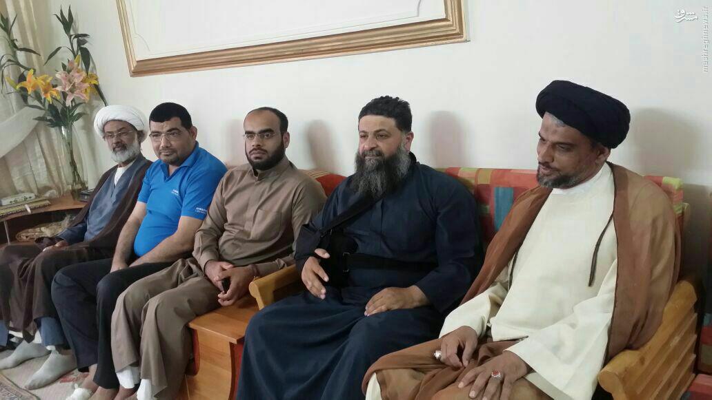 زخمی شدن فرمانده سرایا الخراسانی در فلوجه+عکس
