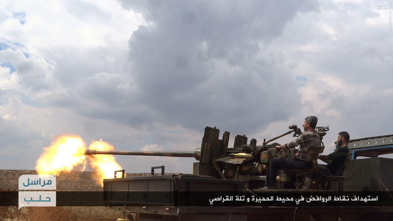 نبردهای جنوب حلب به روایت القاعده+عکس و فیلم
