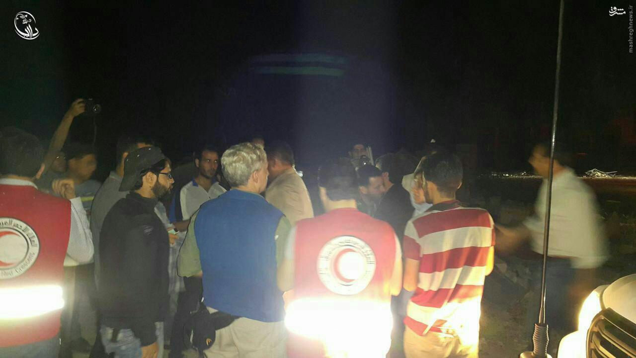 امدادرسانی دولت سوریه به داریای دمشق+عکس
