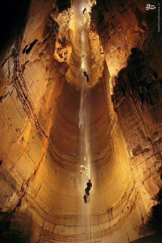 عکس/ عمیق ترین غار جهان