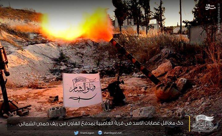افتخار جیش الفتح به گلوله باران روستای علوی نشین+عکس