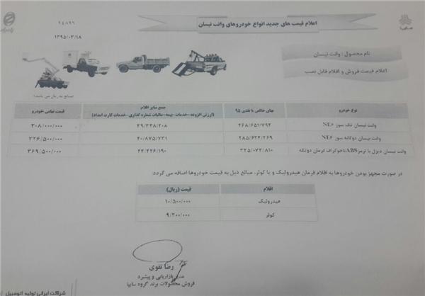 افزایش غیر قانونی قیمت خودرو کلید خورد +سند