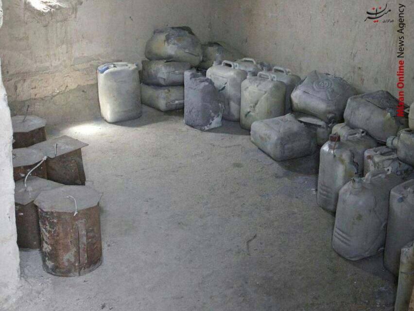 کشف و انهدام اتاق بمب های دست ساز داعش +عکس